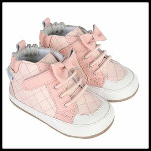 🆕 {Robeez} Leather High Top Baby Shoes